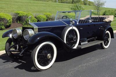 Rolls-Royce Silver Ghost black